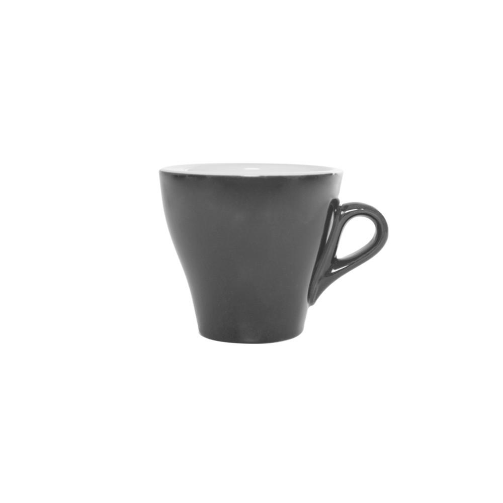 Taza de té de cerámica Grey&White