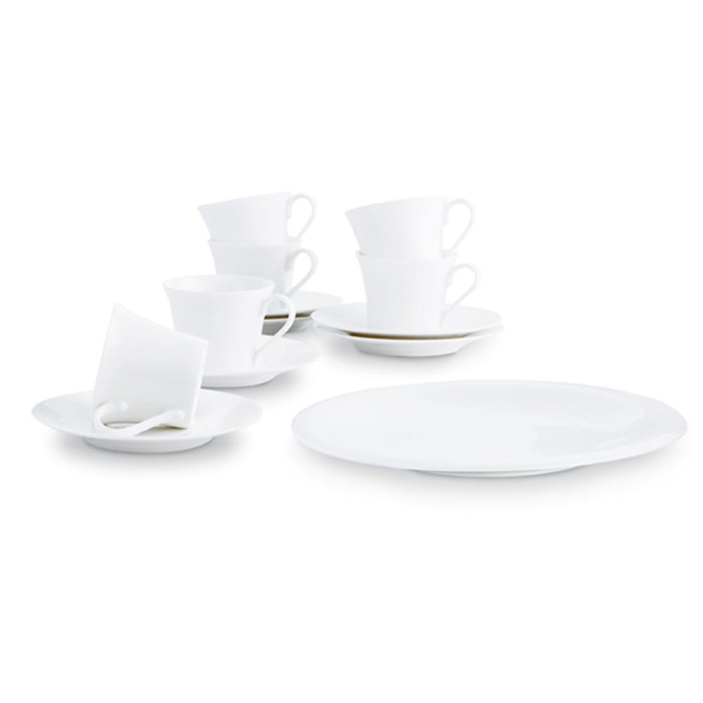 Set de café de 13 piezas Siluet Bidasoa