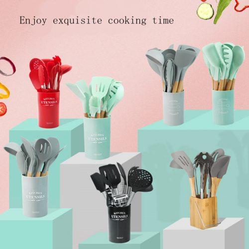 Set de accesorios de cocina de silicona
