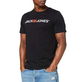Camiseta para Hombre – Jack & Jones Logo tee SS Crew Neck Noos
